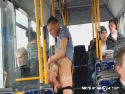 Public Sex On The Bus