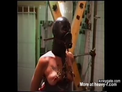 Bizarre Training For Arab Slave