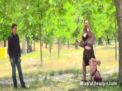 Slut Disgraced In Public Park