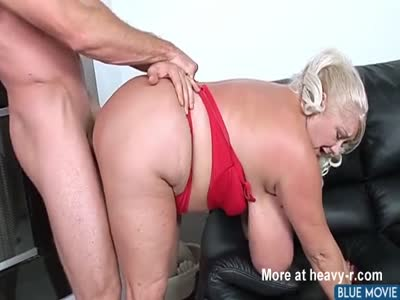 Doggy For Old Busty Bitch