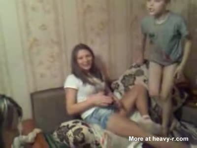 Upskirt Drunk russian girl  [3:17x432p]->