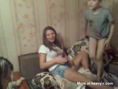 Upskirt Drunk russian girl  [3:17x432p]