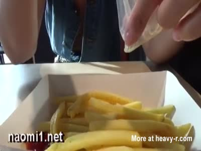 French Fries With Cum