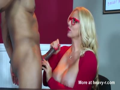 Busty Blonde Takes BBC