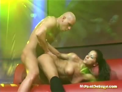 Live Pornshow At Public Sex Fair