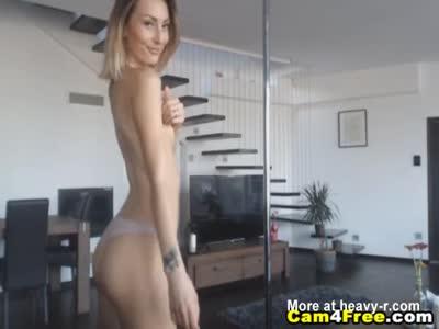 Hot Babe Gets A Hot Jizz On Her Ass