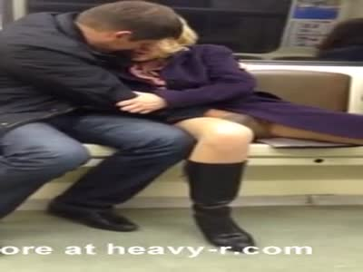 Drunk Woman Fingered In Subway