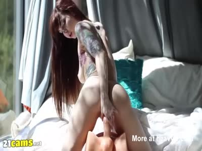 Inked Redhead Riding Toy
