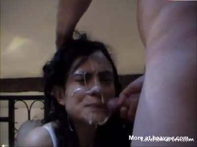 Massive Facial She Didn't Want