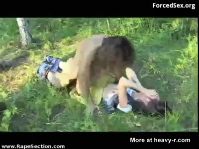 Rape in the forest