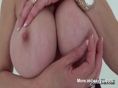 Mature Lady Showing Her Big Boobs