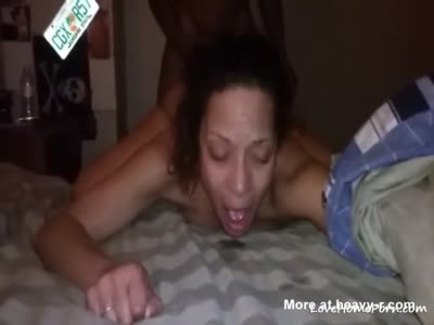 Anal Drilling Cuckold Ebony Wife