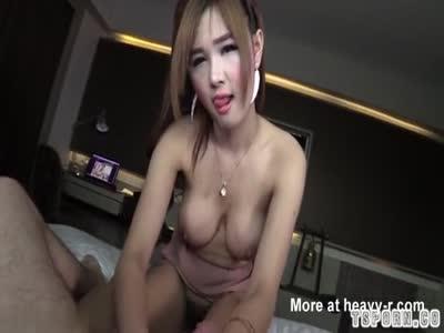Hot ladyboy hardcore with creampie