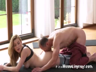 Banged By Her Yoga Teacher