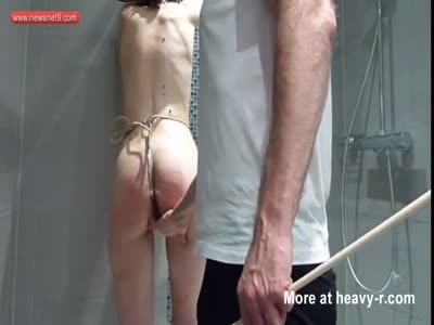 Young Slave Spanked And Tied Up