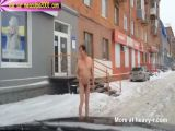 Drugged Man Walking Naked