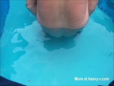 Nudist public anal rosebud gaping
