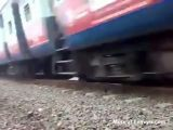 Dangerous game with train