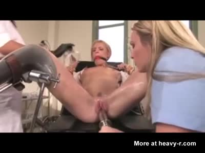Extreme Sex Toy Fucking In Bondage Fetish