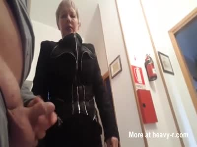 Showing My Cock To Grannies