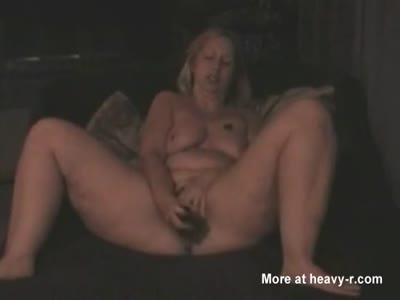 Horny Sloppy Mom Masturbating At Home