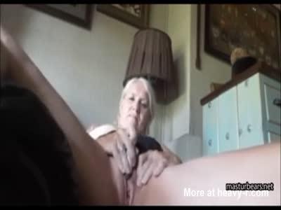 Grandma Masturbating