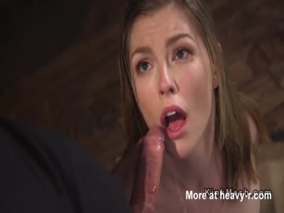 TIed Teen Fucked In All Holes