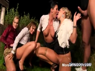 WIld Orgy Outdoors