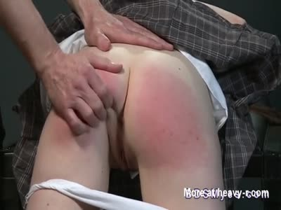 Slapping Bare Ass