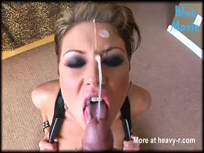 Nasty Whore Receives Big Facial