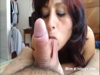 Mature wife loves cock on