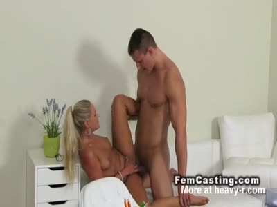 Muscled Dude Cums On Belly