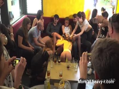 Lesbian Slave Disgraced In Public