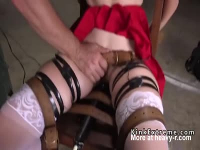 Soft ass blonde slave anal fucked