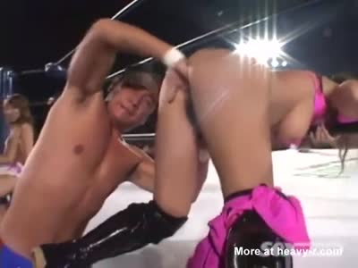 Asian Wrestling Porn