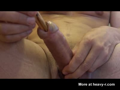Inserting A Pencil In Urethra