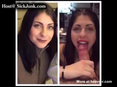 Crazy Mom Taking Huge Facial