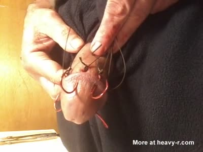 Nasty looking hooks