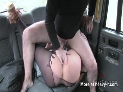 Blonde Banging In The Taxi
