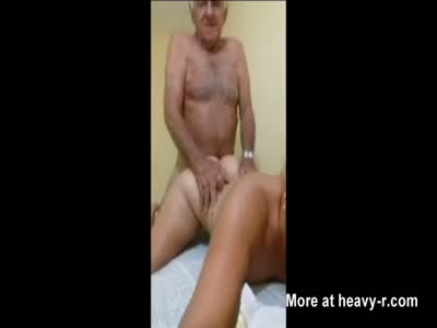 Grandpa Fucking Slutty Granddaughter