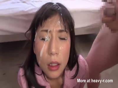 Asian Bukkake Compilation
