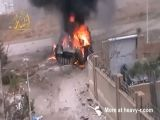 Assad BMP Explodes