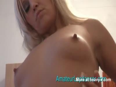 Blonde Slut Dancing For Me