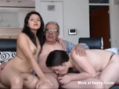 Grandpa's Last Double Blowjob