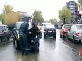 Pedestrian Dragged Under Car