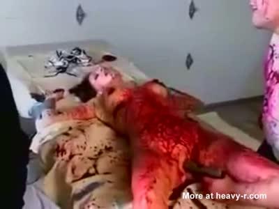 Captured Female Tortured