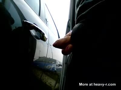 Kocalos - Pissing on a car at random