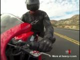 Brutal Motorcycle Crash