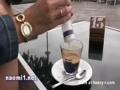Drinking Cum