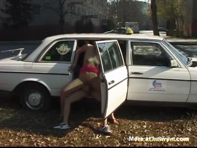 Cab Sex In Public